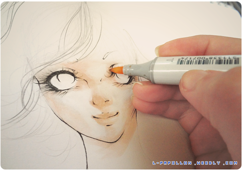 copic marker skin coloring demo - Skin Color Markers
